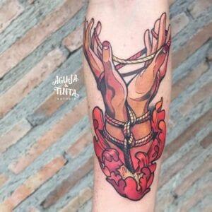 Tatuajes en el brazo - Tatuajes manos
