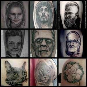 Tatuajes en el brazo - Tatuajes realistas
