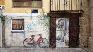 Graffiti locales comerciales - Mural trampantojo