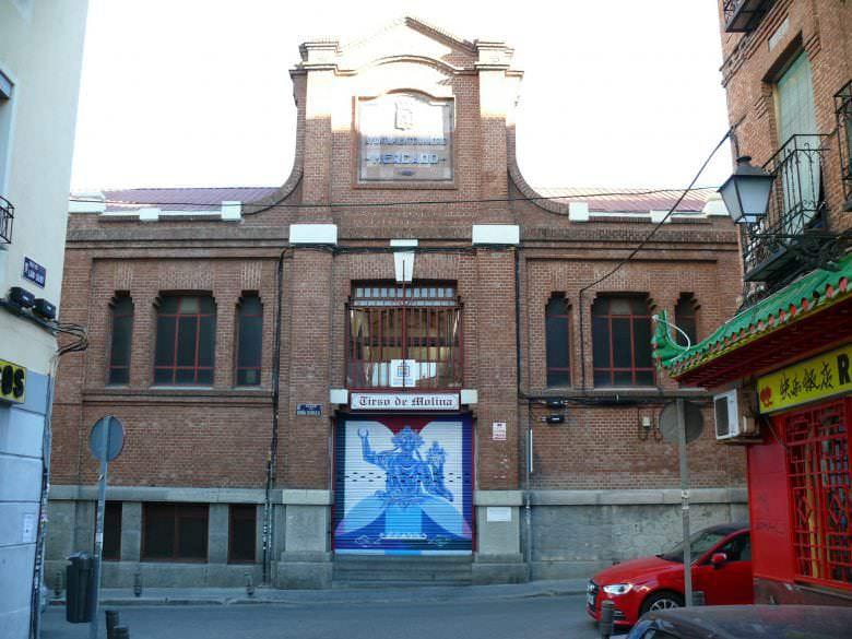 Mural para Mercado Tirso de Molina de Madrid