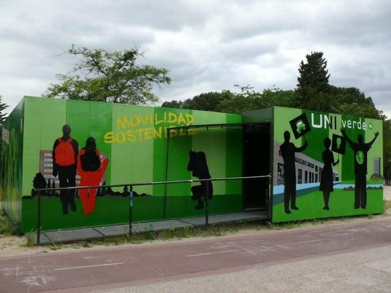 Mural para la Universidad Complutense de Madrid