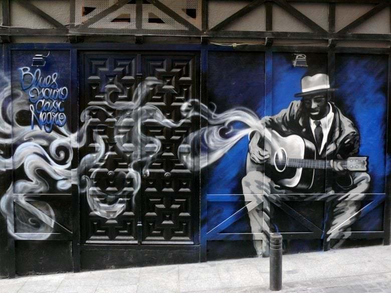 Mural para Bar de Madrid