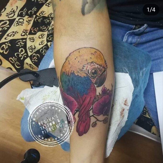 Tatuaje Guacamayo