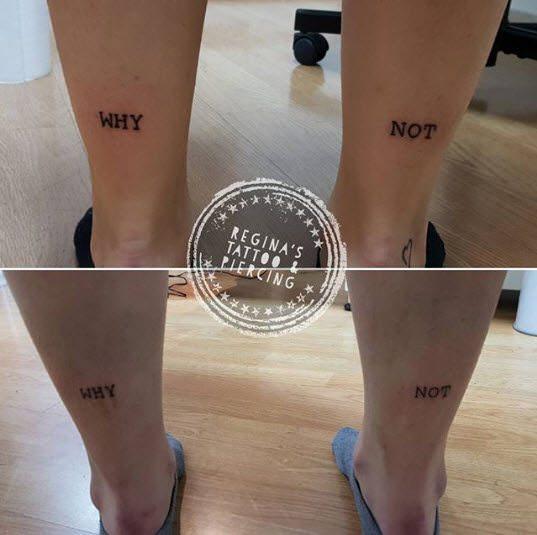 Joker: Tatuajes letras Why Not