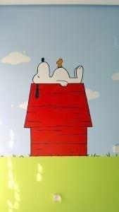 Habitación Snoopy Graffiti