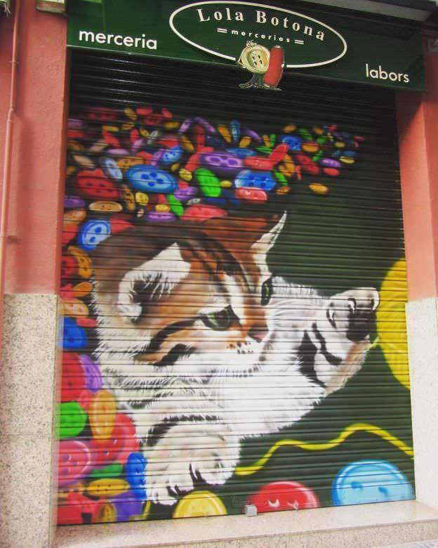 Trabajos de Graffiti Animales