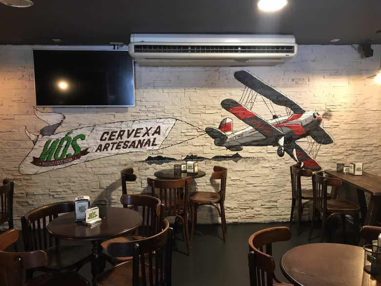 Mural en cervecería Nós (Vigo)
