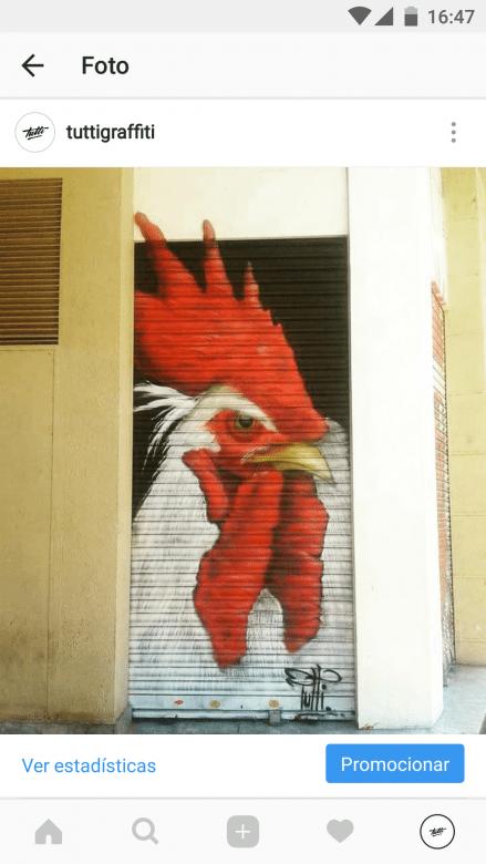 Graffiti comercial en Barcelona-Persianas comerciales-Tuttigraffiti