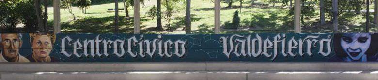 Mural centro civico valdefierro