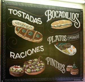 Rotulación a mano en Zaragoza - Rotulación a mano – Lettering Bares