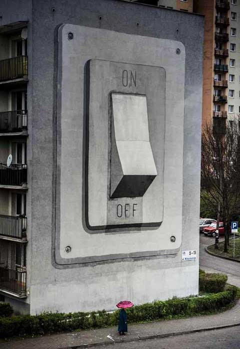 interruptor mural escif