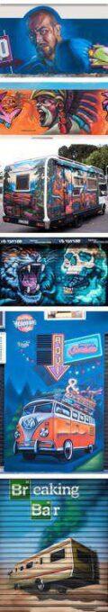 Murales y Graffitis de Creative Close