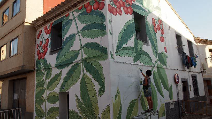 Mural Doa Alfamén