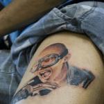 tatuaje en la pierna realismo