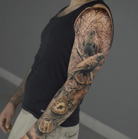 Tatuaje Brazo Entero Mujer Excellent Tatuajes Para Mujeres En El