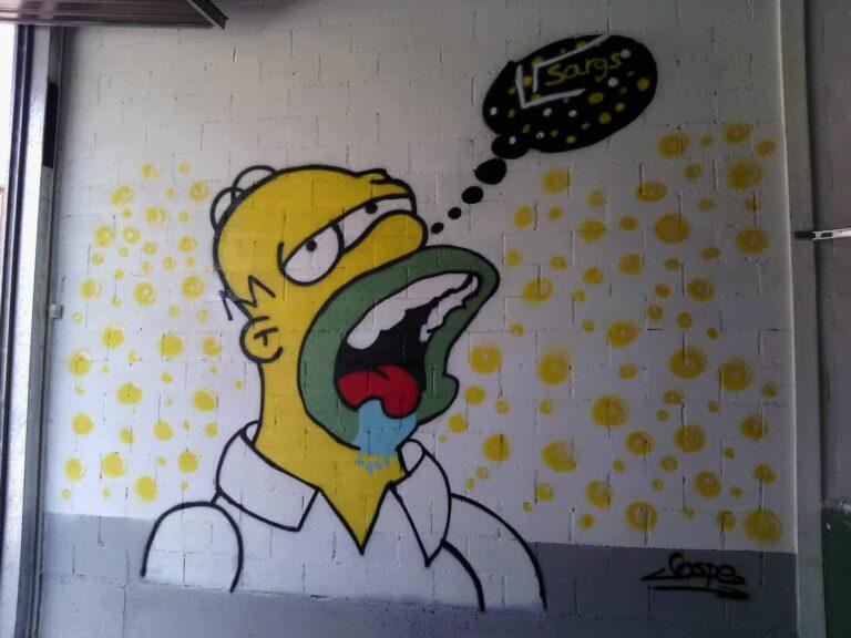 Homer y la cerveza