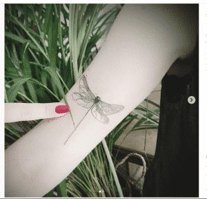 Mejores tatuajes - Tattoo minimalista Libelua