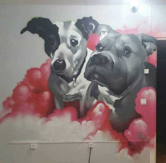 Mural para tienda