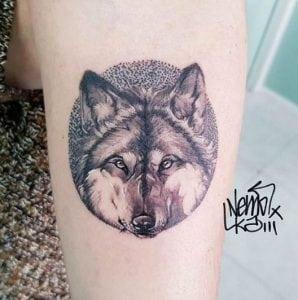 Tatuajes en el brazo - Tatuajes Lobo