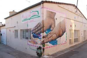 Graffiti profesional - Siente la vida.