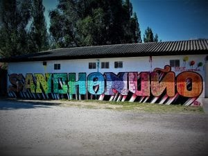 Graffiti mural - Sanchonuño