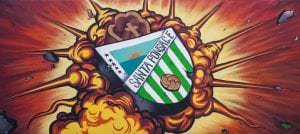 Graffitis de deportes - Escudo de Fútbol