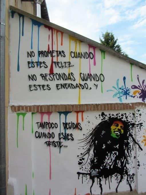 Graffiti Bob Marley