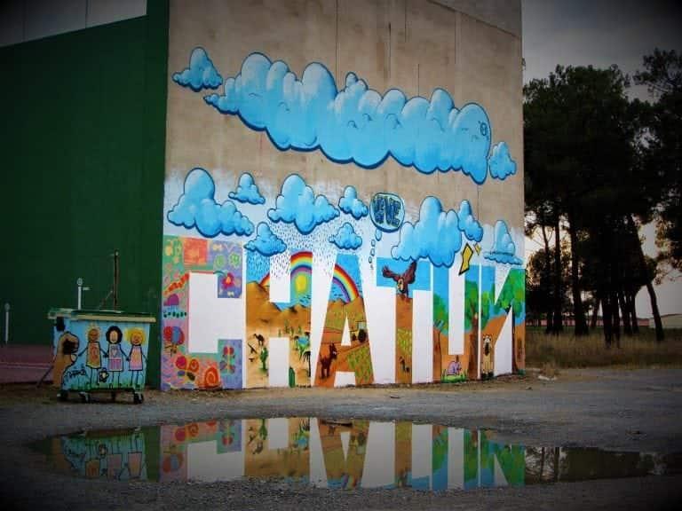 Graffiti: Chatún Mural en Frontón