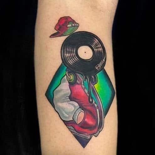 Tattoo dj chico Hip Hop