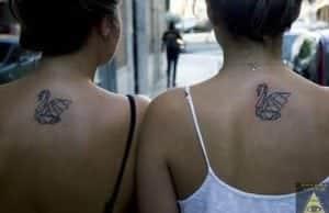 Tattoos Mejores Amigas - Tatuaje hermanas