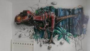 Graffitis pared del cuarto - De todo un poco