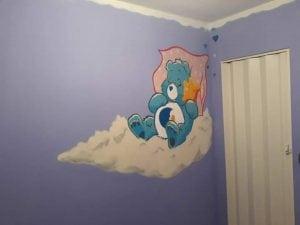 Graffiti infantil - Habitación para cuarto de niños