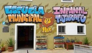 Graffiti mural - Graffiti colegio