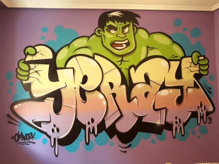 Graffiti habitación
