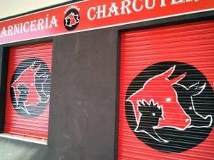 Graffiti locales comerciales - Decoración de carnicería