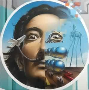 Graffitis - Salvador Dalí