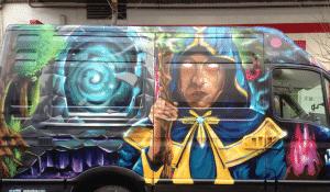 Graffitis - Graffiti Furgo
