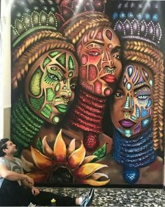 Graffiti mural - Graffiti: Aporoye