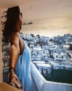 Graffiti comercial en Almeria - Mural artistico