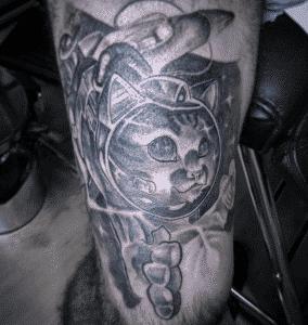 Mejores tatuajes - Tatuaje de gato