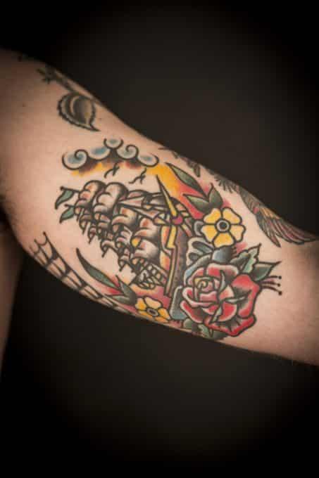 Tattoo Neotradicional Barco