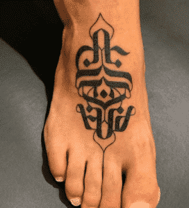 Estudios de Tatuajes en Bilbao - Tatuaje en el empeine