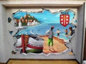 Graffiti comercial en Almeria - Mural decorativo