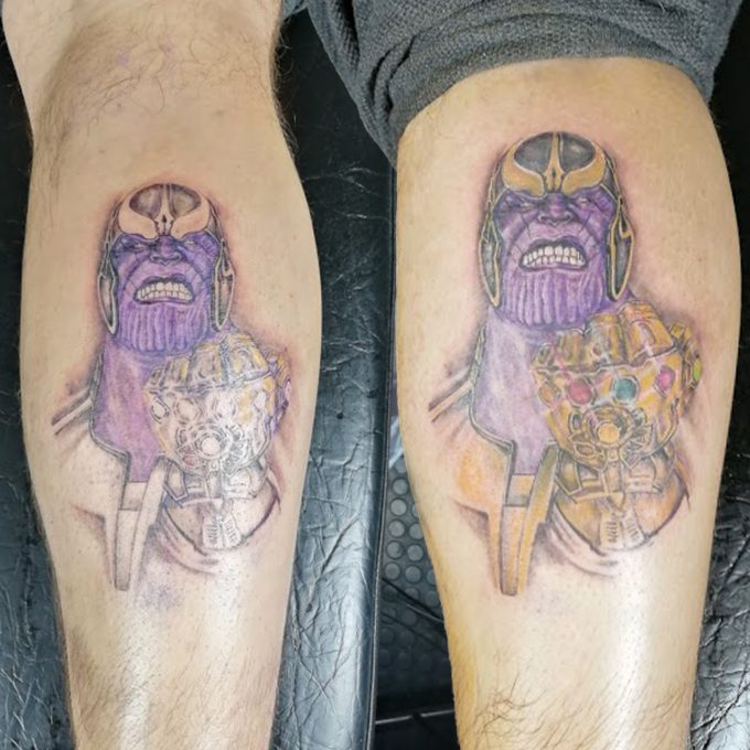 Marvel: Thanos tattoo