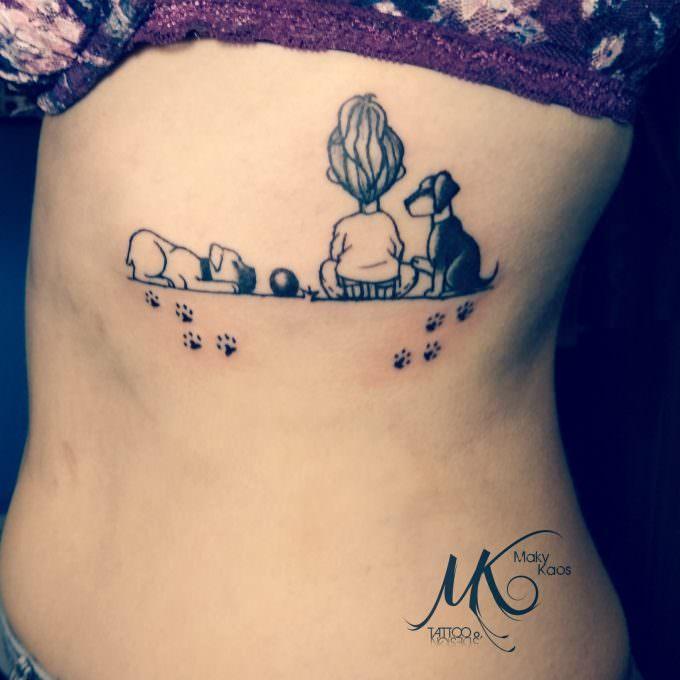 Tatuajes mascotas: Mis mejores amigos...