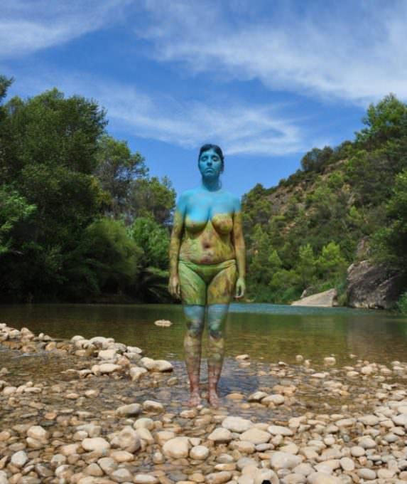 Bodypainting en la Naturaleza