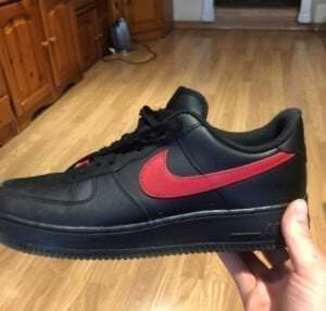 Custom Sneakers - Customización de zapatillas: Af1 juego de tronos
