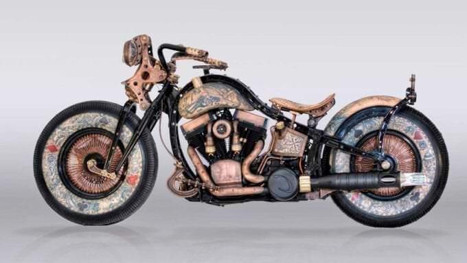 Descubre la nueva Harley-Davidson tatuada