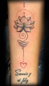 Tatuajes de flor de loto - Tatuaje Flor de Loto