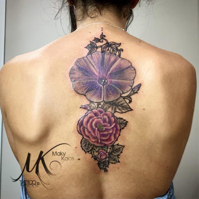 Tatuajes Flores del recuerdo